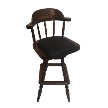 Classic Eagle Bar Stool with Padded Seat